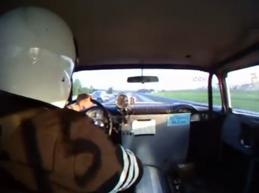 The STARTING Shift: Four Speed Violence Inside A '55 Chevy!