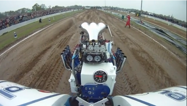Ride Along With a Three Engine, 5000hp Pulling Tractor!