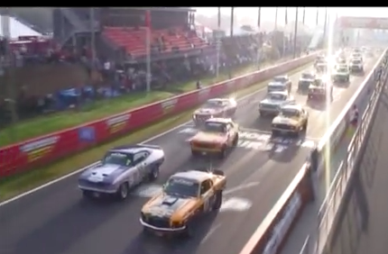 Awesome Video: Screaming Vintage Racers at Australia's Bathurst Raceway
