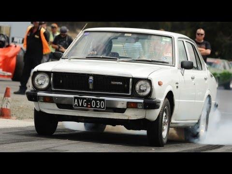 Sleeper Saturday Movie Day: Drag Sleeper Video: An Aussie Toyota Corolla Q-Ship!