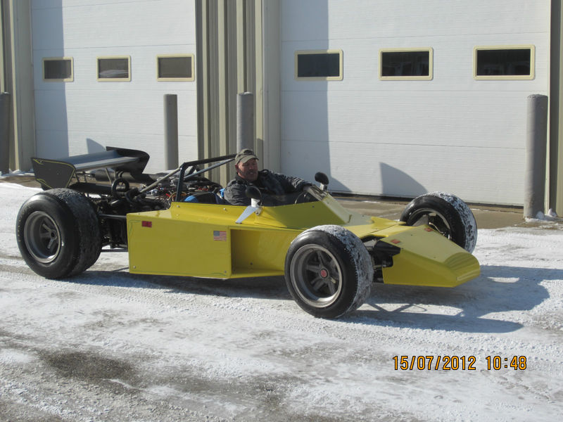 BangShift.com We Found a Two Seat, Street Legal Indy Car Built in ...