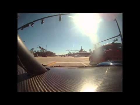 Awesome Video: A Daytona Prototype Racer Hits the Streets With a Police Escort!