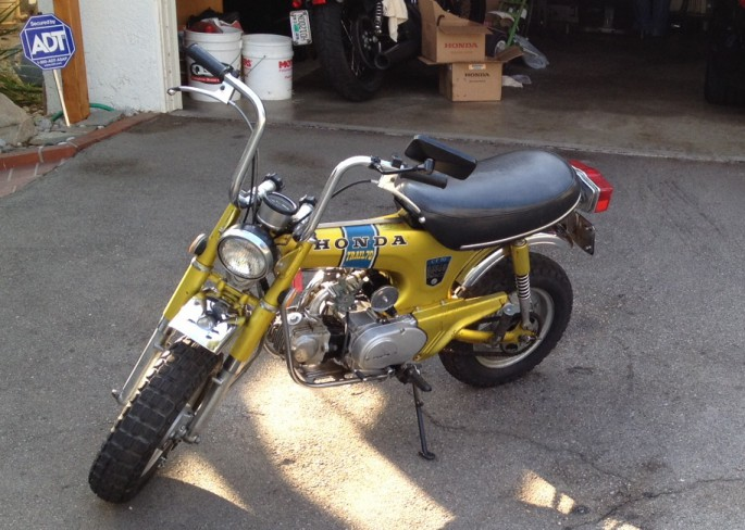 Craigslist Jackson Mi Mini Bikes Honda Trail s like this are