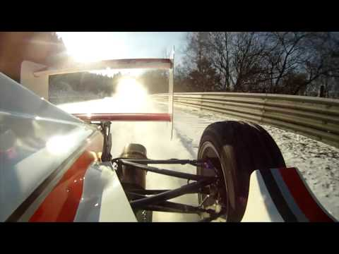 Easter Egg: Watch a Formula Car Run Around a Snowy and Icy Nurburgring at a Shockingly Fast Pace