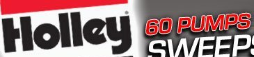 Holley Sixty Fuel Pumps in Sixty Days Sweepstakes IS Rolling! Participate NOW! – Multiple BangShifters Have Already Won Stuff!