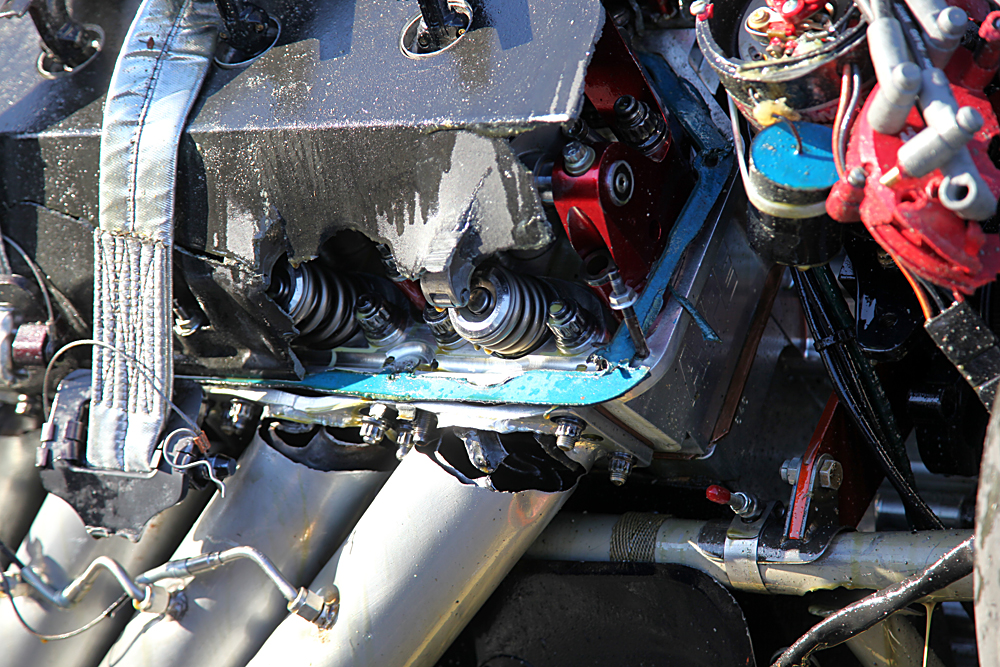 Carnage Photos: Here's the Aftermath of Mark Sanders's Funny Car Crash at the 2012 March Meet