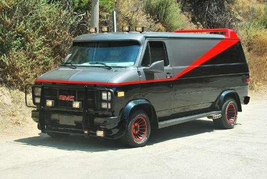 Win the Lottery and Buy the Friggin' A-Team Van!
