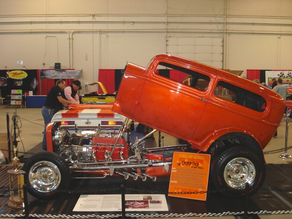 Historic Orange Crate 1932 Ford Sedan For Sale on RacingJunk