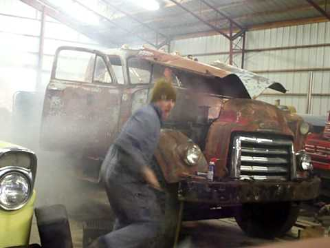 Sunday Re-Run: Old Guy Shuts Down a Runaway Diesel Engine While Youthful Helpers Run for the Hills!
