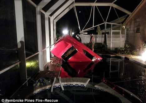 Florida Man Drives 1967 Camaro Into Swimming Pool (W/Video!)