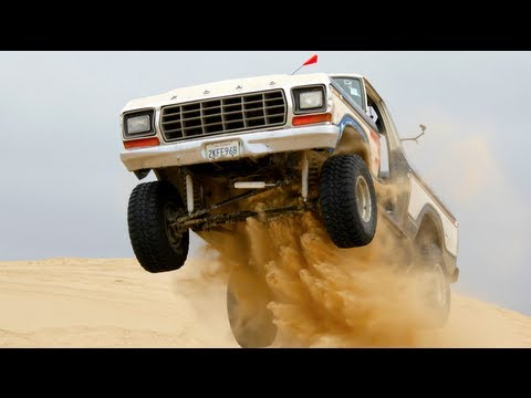 Watch Freiburger and Finnegan Take on Pewe and Fred William From 4-Wheel and Off Road in a Cheap Truck Challenge