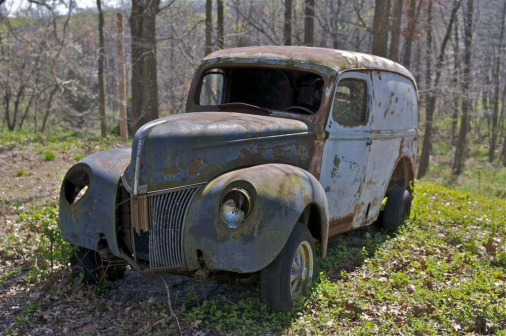 Old Car Junkyard Pa