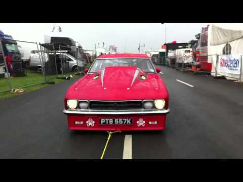 Watch England's Andy Frost Run 6.995/218mph at Santa Pod – World's Fastest Street Legal Drag Car!