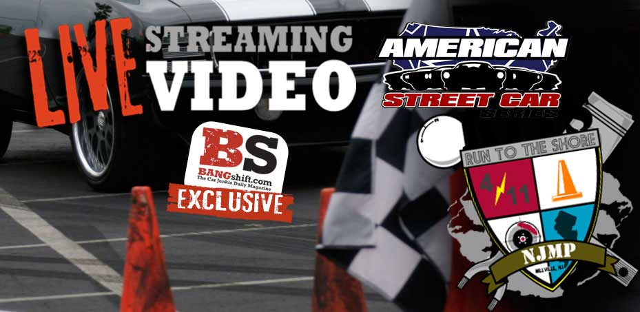 Live Streaming Video from This Weekend's American Street Car Series Run to the Shore!