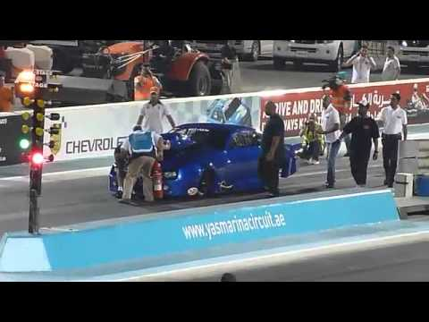 Best of BangShift 2012: A Titanic Nitrous Exposion From The Yas Marina Drag Strip in Abu Dhabi