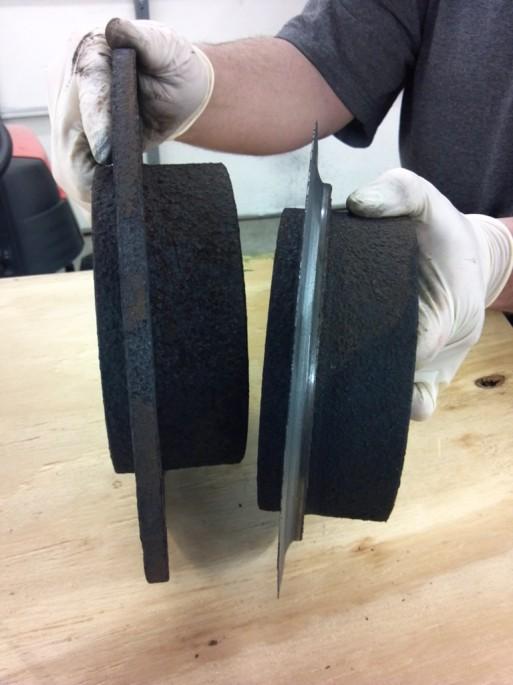 dangerous brake rotors