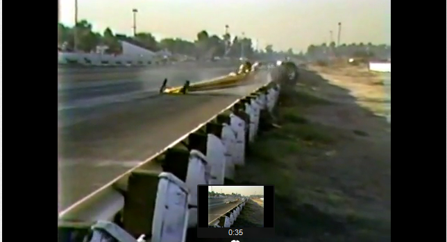 Watch the Most Jacked Up and Violently Failed Top Fuel Burnout in Drag Racing History