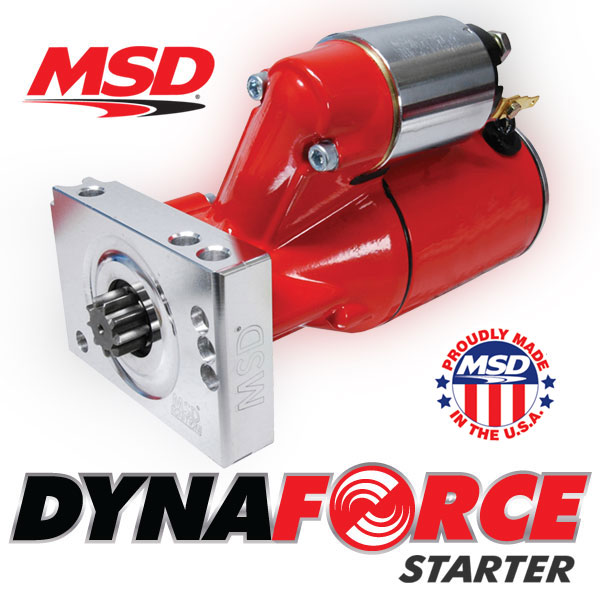 MSD Introduces New Line of DynaForce Starters – High Performance, Light Weight, Lots of Applications