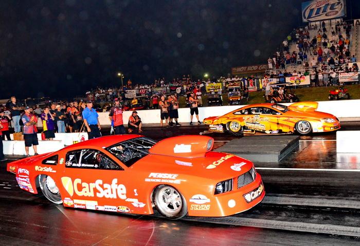 Richie Stevens Jr. Wins ADRL Extreme Pro Stock in the Car Safe BangShift Mustang