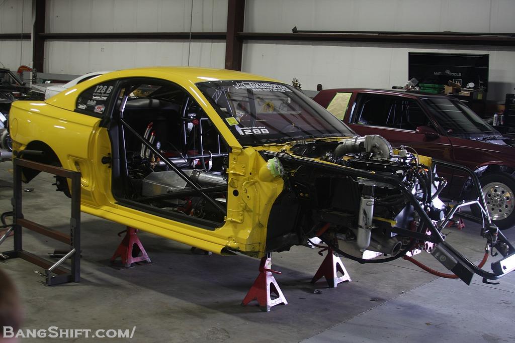 Shop Invasion: DMC Racing – Eddie Kraewic's Camaro and Alex Vettros's Mustang Inside!