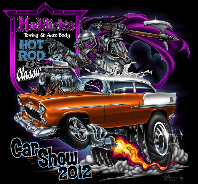 Car Show Coverage: Our New Favorite! Haddick's Hot Rod and Custom Car Show 2012