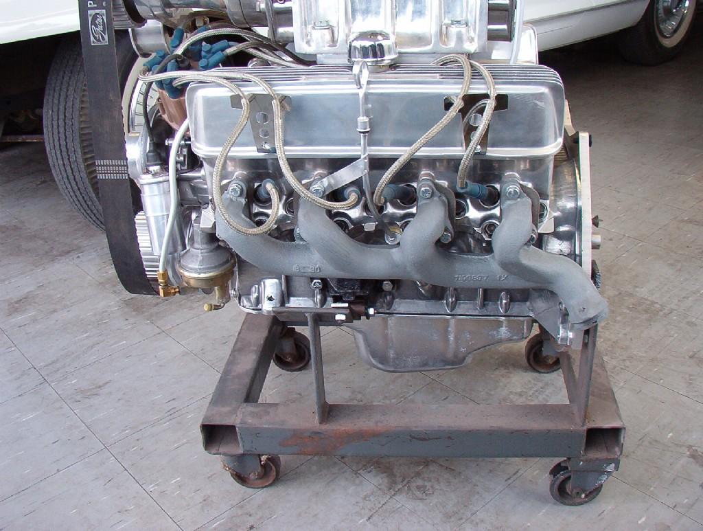 BangShift com eBay Find: An All Aluminum 215ci Buick V8 With A 4-71