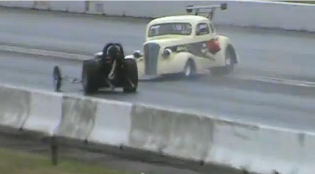 BangShiftcom drag racing crash