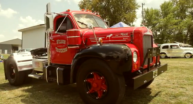 Bitchin' Video: A Profile of the Bad Ass 1964 Mack B-61 From the Holley NHRA National Hot Rod Reunion!