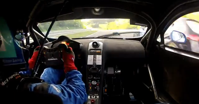 Watch a $300,000 Gemballa McLaren Wreck At Extreme High Speed on the Nurburgring – In Car Video