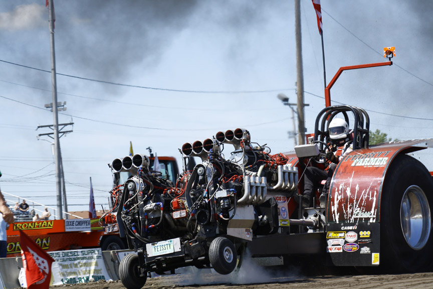 Tractor Pulling Engines : Bangshift event coverage ntpa national tractor