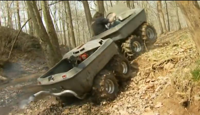 Motorized Freak of the Week: The AMF Sur-Trek