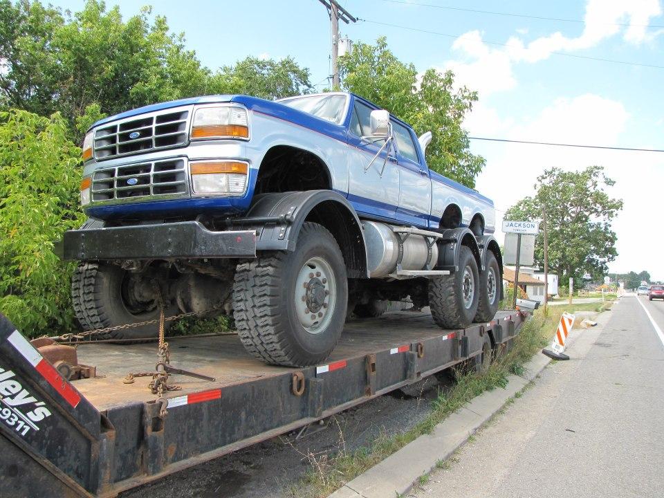 2008 Ford F250 For Sale http://bangshift.com/blog/insane-roadside-find-a-crew-cab-ford-pickup ...