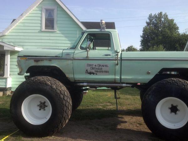 Bangshift Com Craigslist Find A Homebuilt 1977 Ford Monster Truck