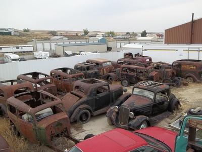 BangShift.com RacingJunk Find The Mother Load of 1930s Vintage Chevy