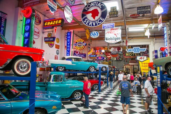 event coverage surf city garage car show