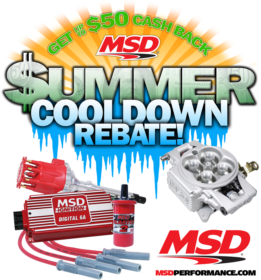 MSD Summer Cool Down Rebate Program is ON! Get Cash Back From Your MSD Purchases!
