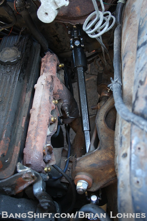 BangShift com Driveway Tech: How To Swap A Jeep Steering