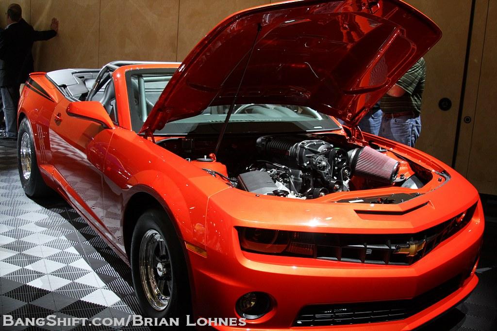 SEMA 2012 Gallery – COPO #69 (Convertible!) – Tony Stewart Camaro – Guy Fieri Corvette – Hot Wheels Camaro