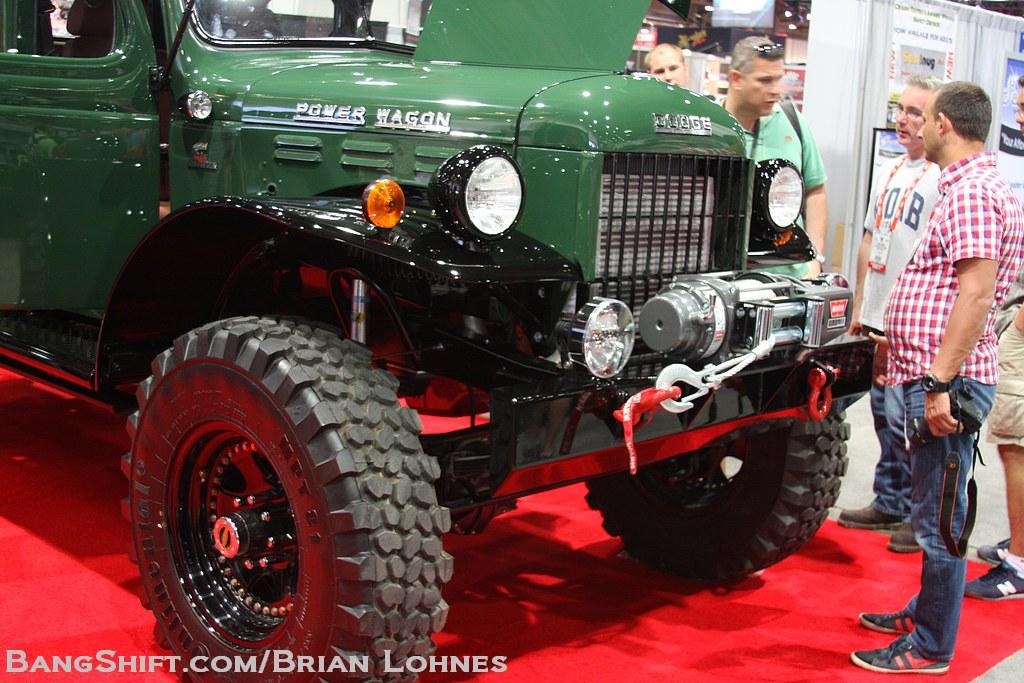 Bangshift Com Sema 2012 Featurette A 1949 Dodge Power