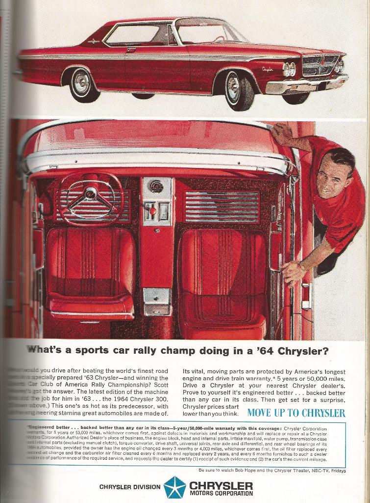 BangShift.com Vintage Car Ads From the 1964 NY International Auto ...