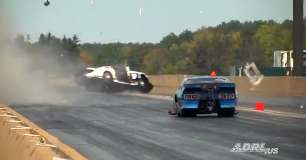 Video: Robert Patrick's Devestating Pro Nitrous Wreck From ADRL Norwalk – Patrick OK