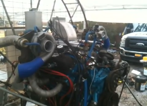 Video: Watch A Twin Turbo 507ci Cadillac Air Boat Engine Get Tuned With Holley EFI – Frankenstein Greatness!