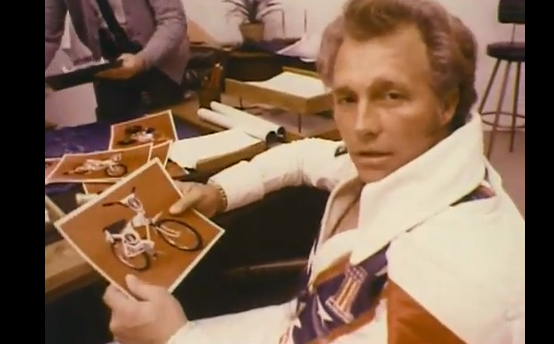 Vintage TV Ad Perfection: Evel Knievel In All His 1970s Greatness Hawking AMF Bikes