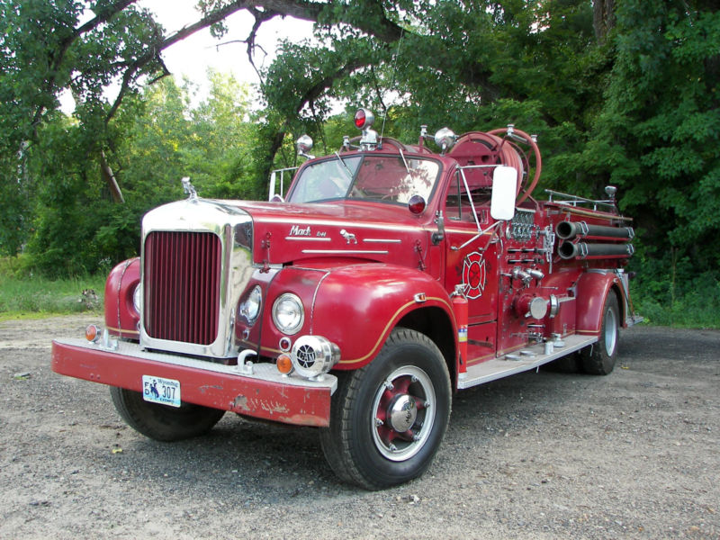 Old Mack Fire Engine For Sale Old Free Engine Image For