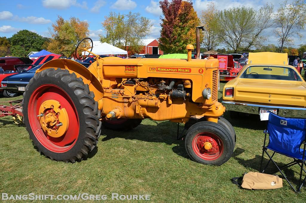 Old Farm Tractors : Bangshift gallery the lyon farm antique tractor