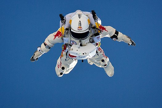 Jump Cancelled for Today Check Back Tomorrow  TO WATCH THE RED BULL STRATOS EDGE OF SPACE SKY DIVE!