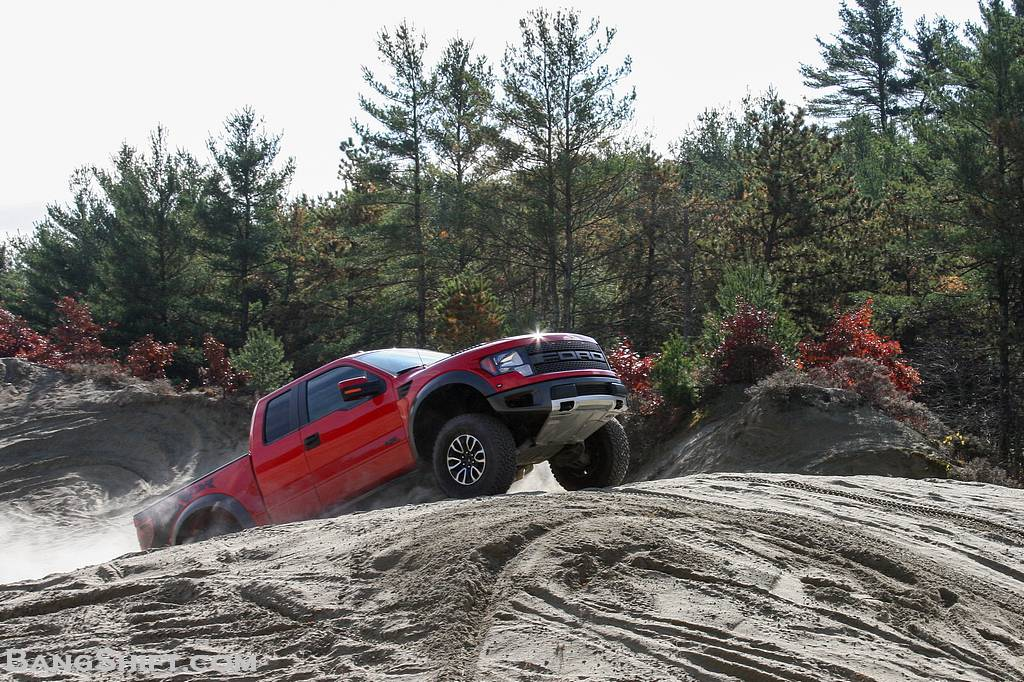 Bangshift Test Drive The 2013 Ford Raptor We Drag It Wheel It