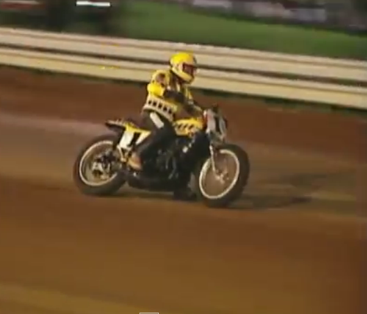 Historic Racing Video: The Night Kenny Roberts Rode the Wildest Dirt Track Bike of All Time