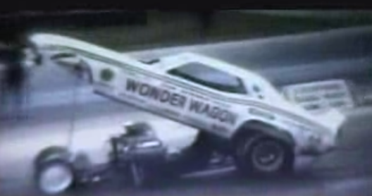 Historic Drag Video: The 1973 Manufacturer Funny Car Showdown From Byron Dragway!