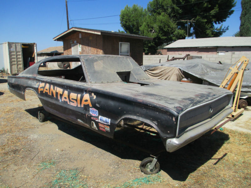 BangShift.com eBay Find: A 1966 Charger Body From The Dawn Of The ...